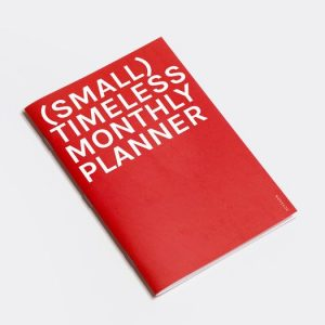OCTAGON | Planificador Mensual A5 (Small) Timely Monthly Planner