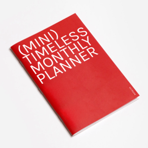 OCTAGON | Planificador Mensual A6 - (Mini) Monthly Planner Timeless