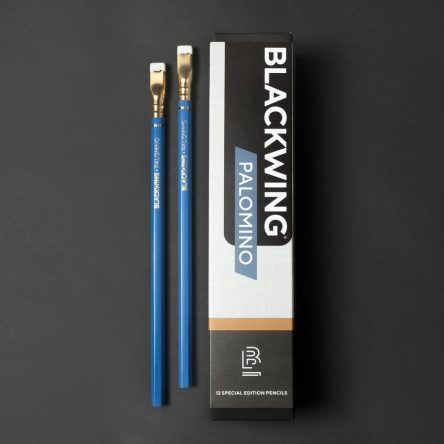 BLACKWING Palomino Blue | Caja 12 Lápices – (Extra Firme – HB)